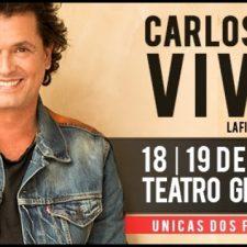 Carlos Vives llega en marzo a la Argentina