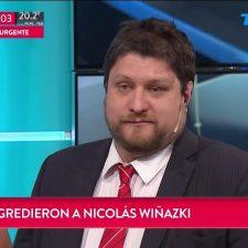 Repudio masivo a la agresión sufrida por Nicolás Wiñazki