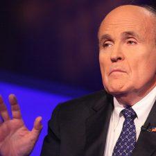 Rudolph Giuliani sería el Secretario de Estado de Trump