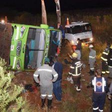 Brasil: accidente fatal con un colectivo de egresados argentinos
