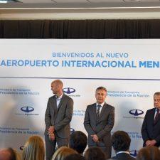 Conferencia del Presidente desde el nuevo aeropuerto de Mendoza