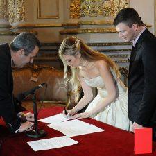 Casamientos en el teatro Colón