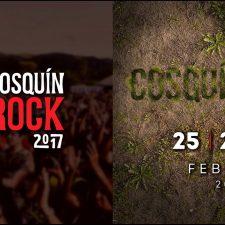Grilla oficial del Cosquín Rock 2017