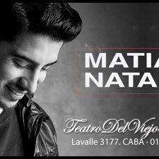 """Matías Natale cierra el año con su """"Caminando Tour"""""""