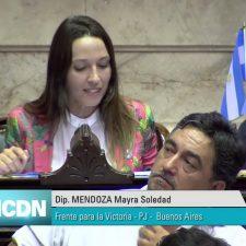 """Mayra Mendoza: la diputada """"K"""" que confunde Italia con Hungría"""