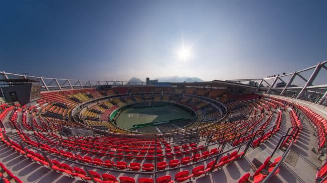Centro Olímpico de Tenis (interior)
