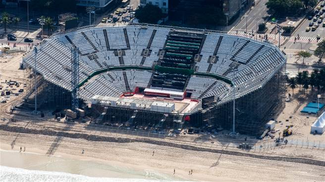 Estadio de Voley de la Playa Copacabana