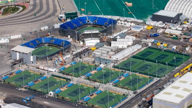 Otra imagen del Centro de Tenis