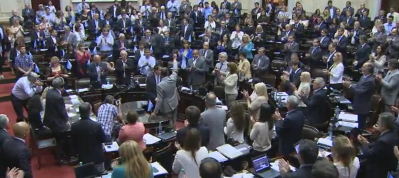 Comenzó la sesión en Diputados para el acuerdo con los Fondos Buitres