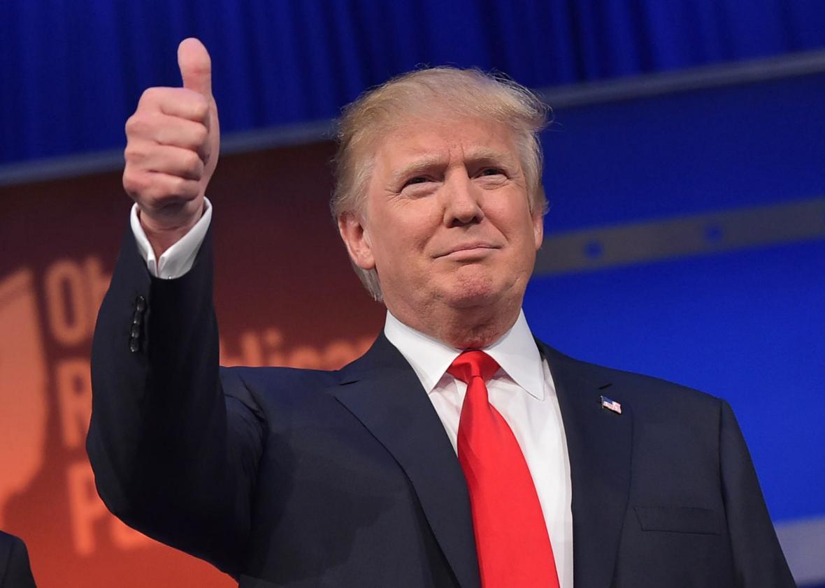 Donald Trump ganó en Florida y está a mitad de camino de la victoria