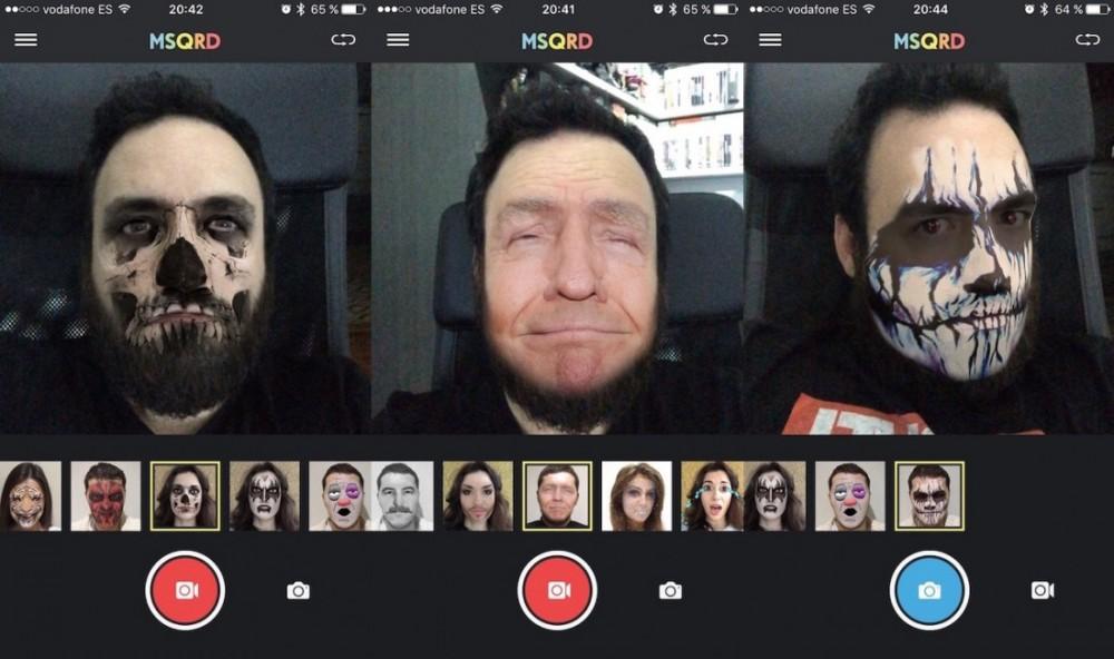 MSQRD desembarcó en Android