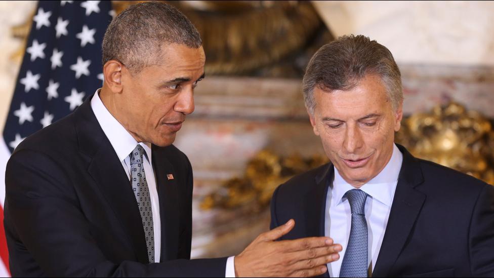 Obama apoyó a la Argentina y pidió que se levanten los embargos