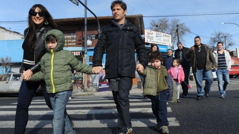 Agredieron a Axel Kicillof en el colegio de su hijo