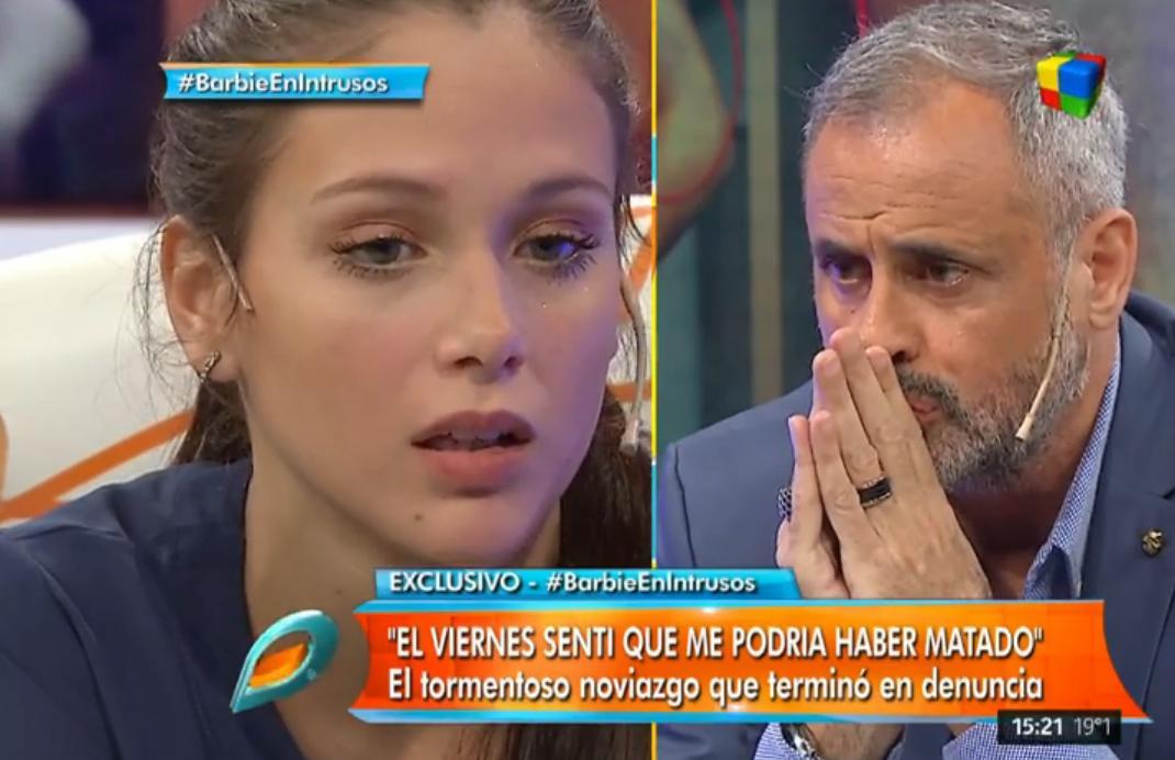 Barbie Vélez contó su relación con Fede Bal en Intrusos