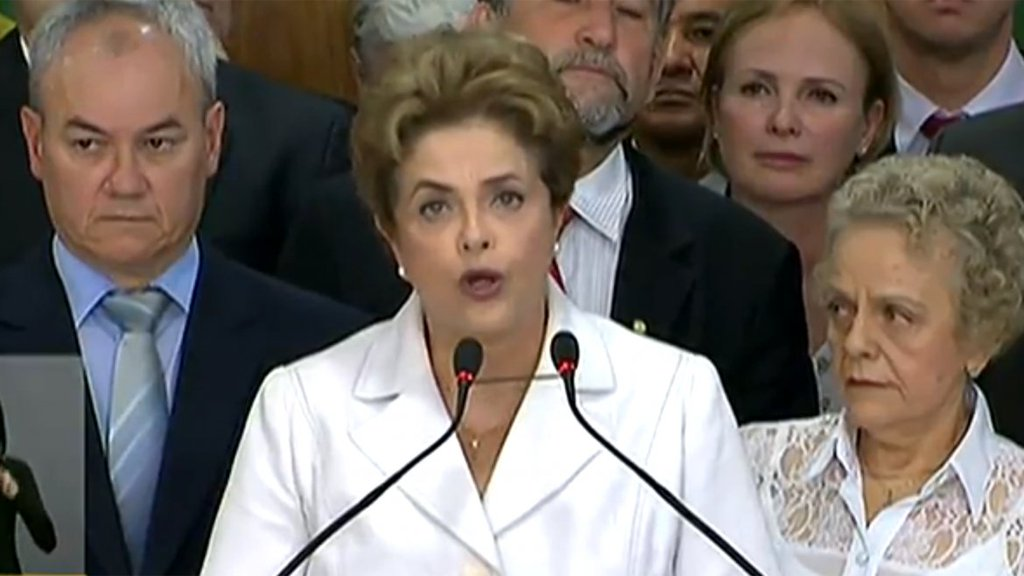 "Dilma Rousseff ""esto fue un verdadero golpe de estado"""