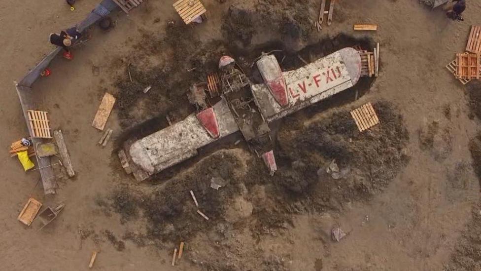 Encuentran en Chubut un avión desaparecido hace 52 años