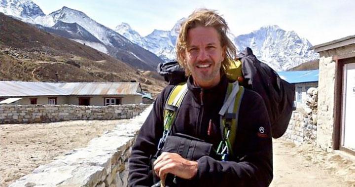 Facundo Arana llegó a la cima del Monte Everest