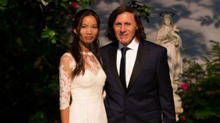 Guillermo Vilas se casó con su mujer tailandesa