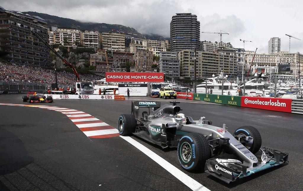 Hamilton triunfó en un GP de Mónaco lleno de emoción 1