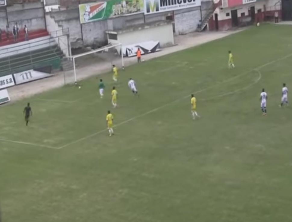 Insólita goleada en fútbol de Ecuador 44 a 1