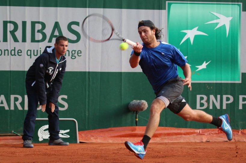 Marco Trungelliti dio la nota al vencer al top ten Cilic en Roland Garros