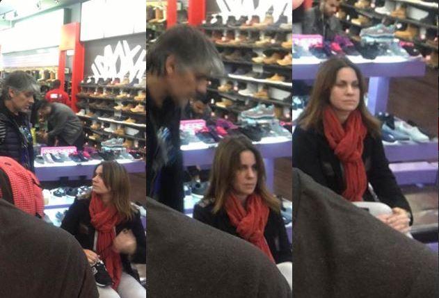 Pablo Echarri y Nancy Duplaá caminaron por la Quinta Avenida y fueron insultados en Twitter