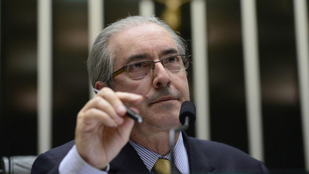 Un juez suspendió a Eduardo Cunha presidente de la cámara de diputados de Brasil