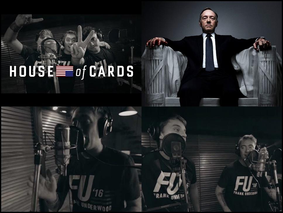 """La cumbia de Los Totora en """"House Of Cards"""""""