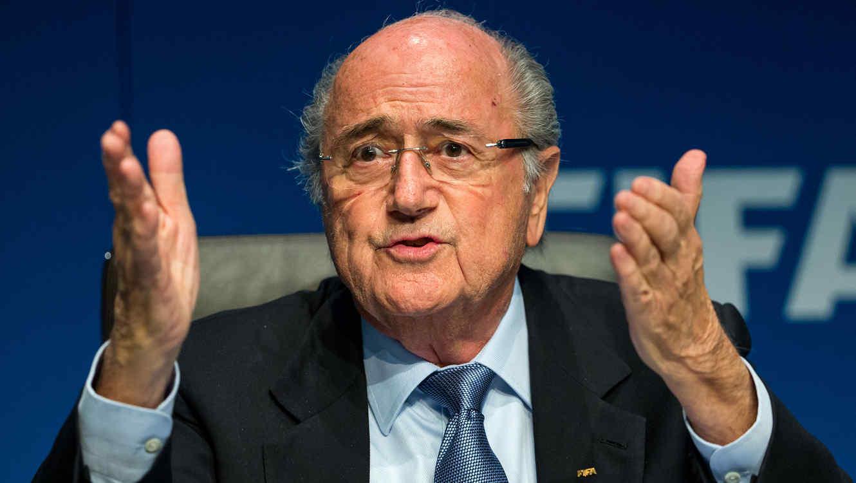 """Joseph Blatter """"Blatter y La FIFA no son corruptos"""""""
