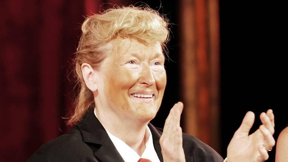 La tremenda imitación de Meryl Streep a Donald Trump