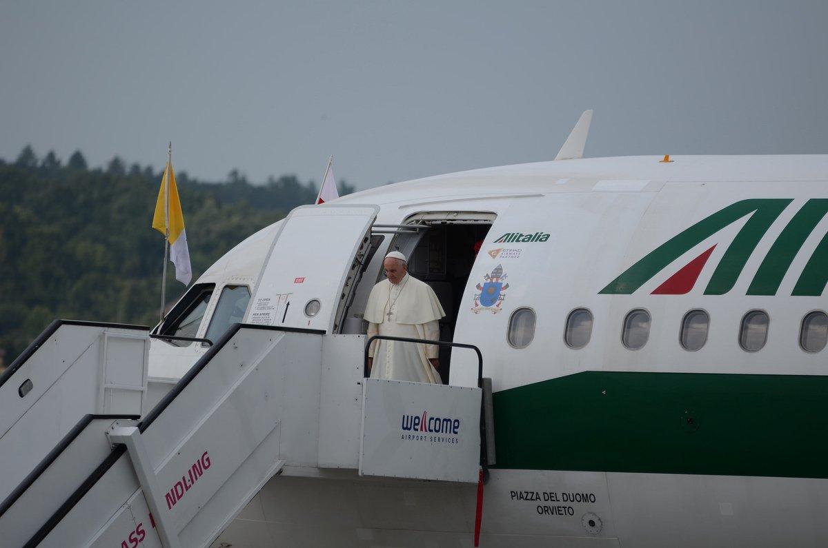 El Papa en Polonia El mundo está en guerra
