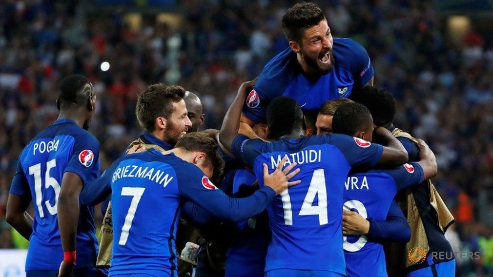 Francia Finalista Euro 2016