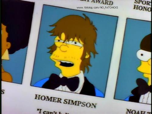"Homero Simpson ""Maradona es un gordo tetón"""