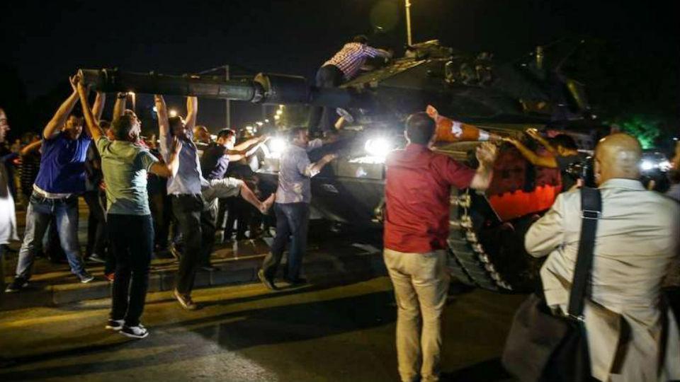 Imágenes del infierno en Turquía