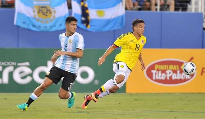 La Sub 23 empató ante Colombia en el debut de Olarticoechea