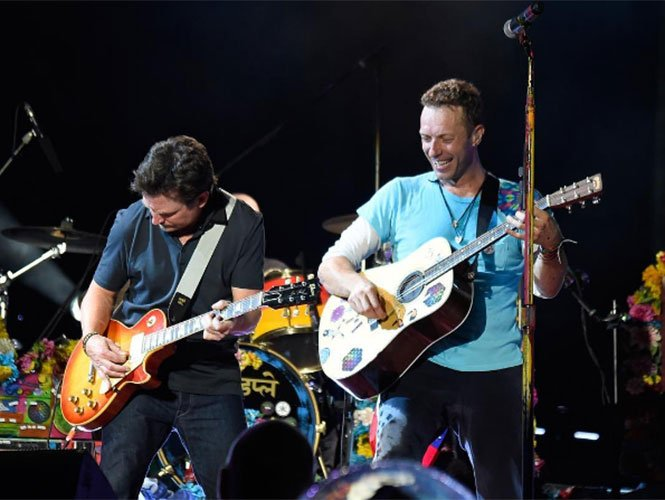 Michael J Fox y Coldplay