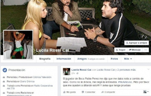 Una periodista acusa a Pablo Pérez de pedir sexo a cambio de una nota