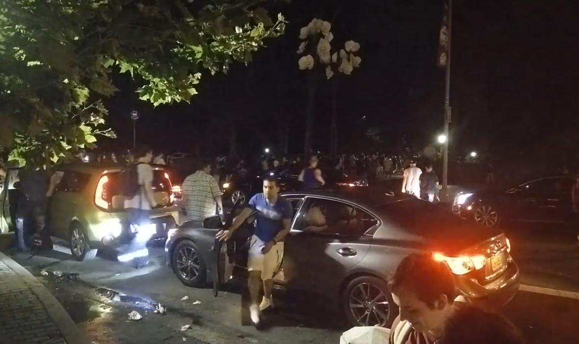 Video Furor en Central Park por la aparición de un Pokémon