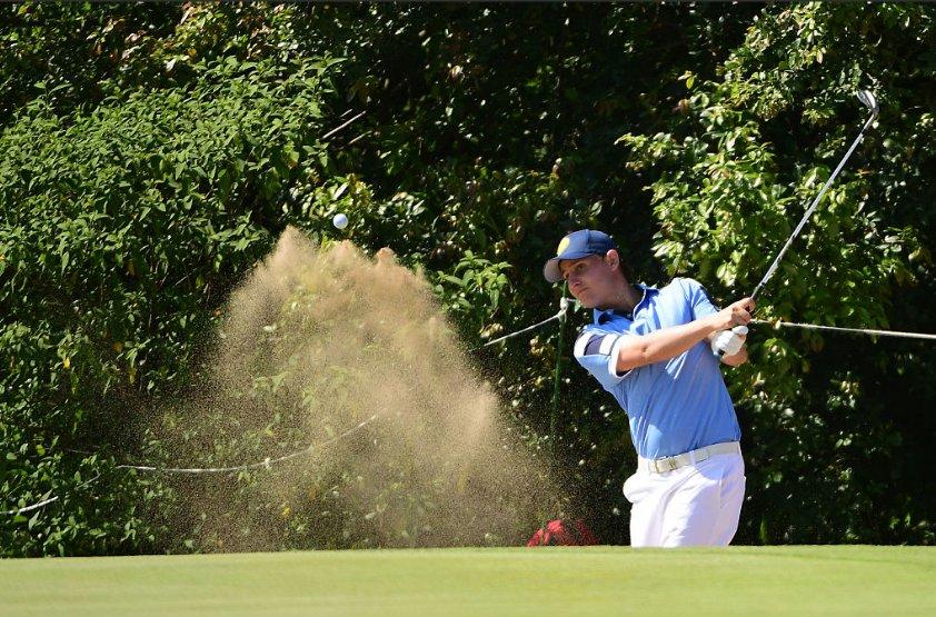 Emiliano Grillo terminó octavo y logró un diploma olímpico para el golf argentino