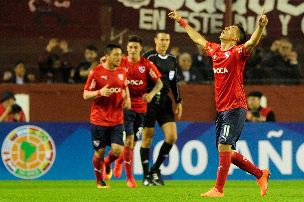Independiente venció a Lanús y llega con ventaja al desquite