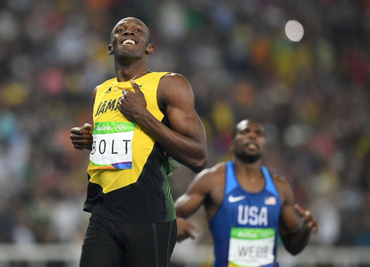 Video Bolt sigue imparable en Río