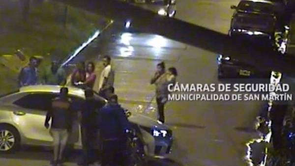 El médico disparó desde cerca al delincuente que le quería robar el auto