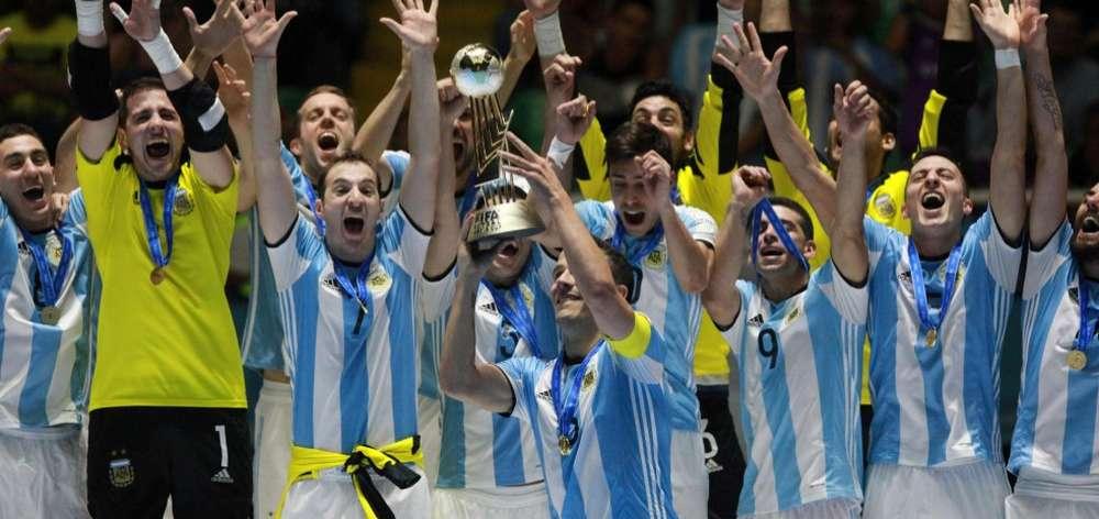Argentina campeón de futsal
