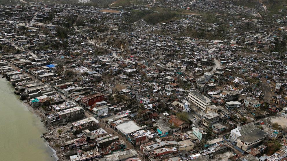 El huracán Matthew causó 800 muertos en Haití