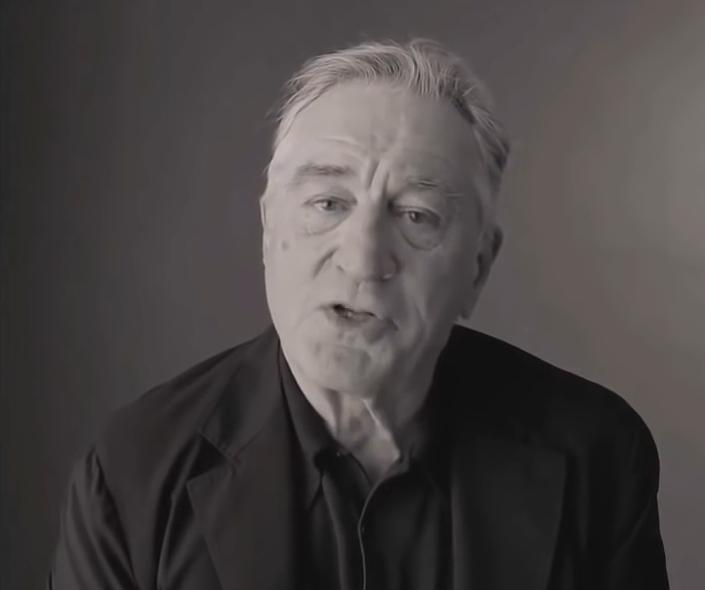 Honestidad brutal de Robert De Niro en un video contra Donald Trump
