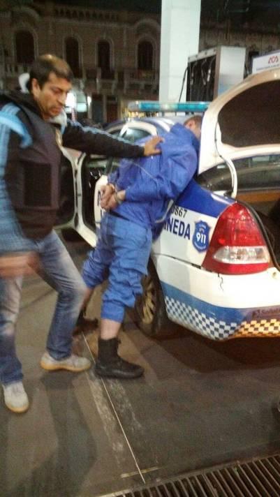 Policía narco fue capturado por sus propios compañeros en Avellaneda